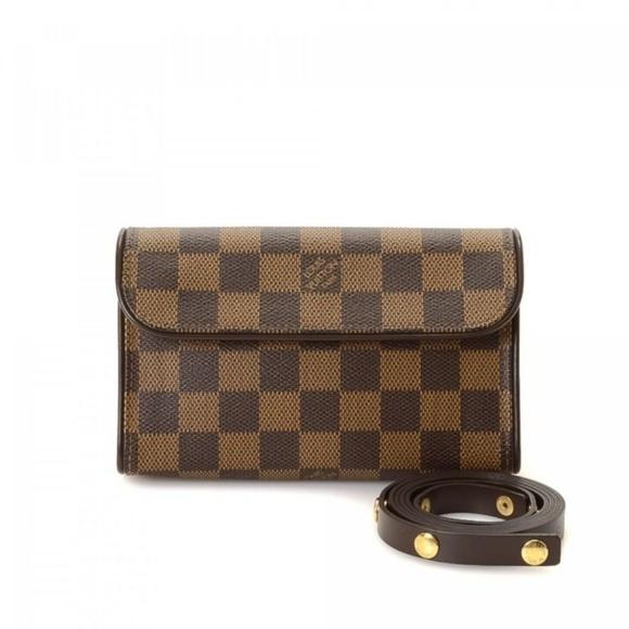 a626be074c2b Louis Vuitton Handbags - LOUIS VUITTON EBENE FLORENTINE WAIST POUCH BAG XS